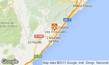 Mapa La Ametlla de Mar Villa 62012