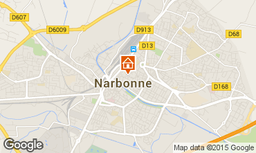 Mapa Narbonne Apartamento 96760